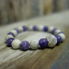 Minerals, Beaded Bracelets, Jewelry, Fashion, Moda, Jewlery, Jewerly, Fashion Styles, Pearl Bracelets