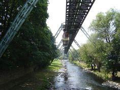 Wuppertal, Schwebebahn, Bergisches Land, Deutschland