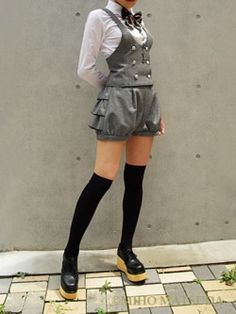 easy idea for pants-suit makeover http://hipsterloli.tumblr.com/post/10194374156/miho-matsuda-is-my-spirit-animal       Miho Matsuda is my spirit animal
