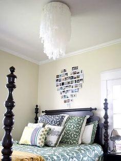 diy bedroom chandelier | DIY chandelier