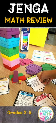 Awesome math review game. Kids will love it!