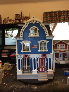 The Willowcrest Dollhouse - front view
