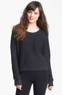 Love by Design Scoop Neck Sweater (Juniors) available at #Nordstrom
