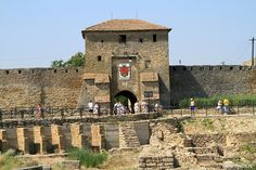 Akkerman fortress located in Belgorod-Dnestrovskiy city (Odessa oblast) is a historic and architectural monument of the 13th-15th centuries. It is one of the most preserved fortresses on the territory of Ukraine. Also Akkerman fortress is the largest fortification in the country.