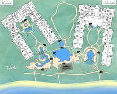 Map of Honua Kai Honua-Kaanapali-Maui.com. The perfect resort for us. We were in 744.