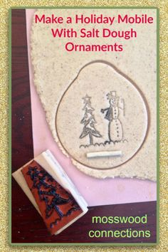 Salt Dough Ornaments is a fantastic sensory activity for kids! Salt Dough Ornaments make beautiful holiday decor and treasured homemade gifts. Kids Make Christmas Ornaments, Felt Christmas Decorations, How To Make Ornaments, Homemade Ornaments, Diy Ornaments, Homemade Christmas, Christmas Fun, Fun Crafts For Kids, Toddler Crafts
