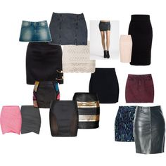 A fashion look from September 2014 featuring pin skirt, Siwy and ribbed pencil skirt. Browse and shop related looks. Fashion Beauty, Fashion Looks, Body Shapes, Polyvore, Shoe Bag, Hourglass, My Style, Casual, Stuff To Buy