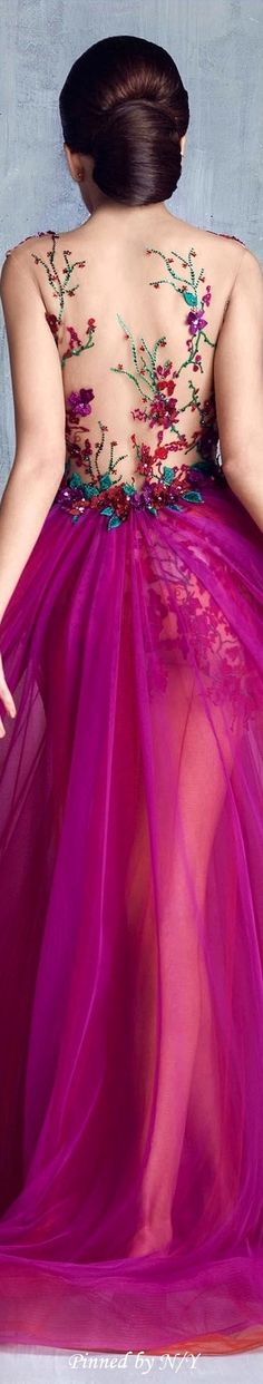 #Farbbberatung #Stilberatung #Farbenreich mit www.farben-reich.com Tony Chaaya Couture S/S 2016 jαɢlαdy