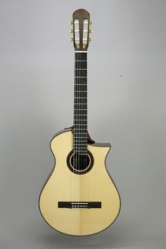 Nylon Strings model by matsuda guitars,     Michihiro Matsuda