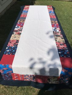 Patriotic Tablecloth, 4th Of JulyTablecloth, Red White And Blue Decor,  Patriotic Decor,