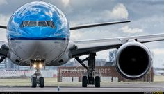 High quality photo of KLM Asia Boeing 777-200ER by JPVermeulen. Visit Airplane-Pictures.net for creative aviation photography.
