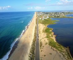 Outer Banks Scenic Byway, North Carolina.