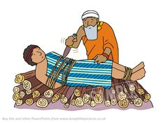 Abraham gets ready to sacrifice. Abraham is tested. PowerPoint Presentation from Lamp Bible Pictures