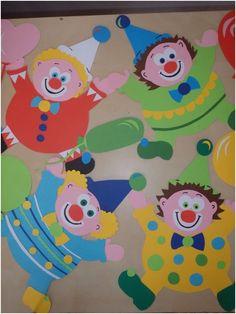 Clown Crafts, Circus Crafts, Carnival Crafts, Circus Art, Carnival Themes, Circus Theme, Hobbies And Crafts, Diy And Crafts, Arts And Crafts