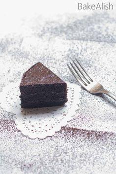 This Eggless Chocolate Sponge Cake is a super moist easy chocolate cake recipe.This basic easy sponge cake recipe feels just like sponge One Bowl Cake Recipe, Easy Sponge Cake Recipe, Fun Baking Recipes, Easy Cake Recipes, Dessert Recipes, Desserts, Eggless Chocolate Cake, Chocolate Sponge Cake, Gluten Free Mug Cake