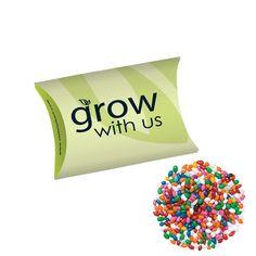 Pillow Box/Chocolate Covered Sunflower Seeds/Gemmies