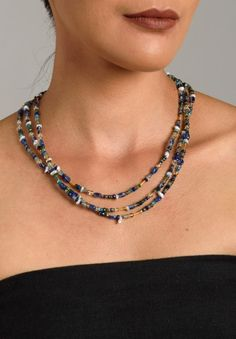 Greig Porter 3 Strand Necklace