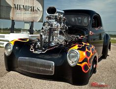 Receive excellent ideas on hot rod cars. They are on call for you on our web site. Classic Hot Rod, Classic Cars, Drag Cars, Us Cars, American Muscle Cars, Drag Racing, Custom Cars, Hot Wheels, Hot Rods