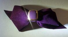 Purple Velvet Hair Bow Accessory   Jenstardesigns - Accessories on ArtFire