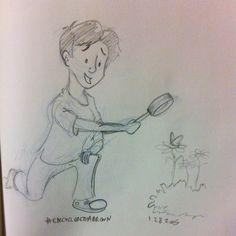 @sketch_dailies #sketch_dailies #EncyclopediaBrown #sketch #doodle #drawing