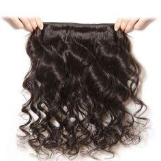 10A Grade Loose Wave 3/4 Bundles Human Hair - 24/24/24 Inch