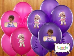 doc mcstuffins birthday party supplies | Doc McStuffins Birthday Party Ideas / Doc McStuffins Balloons