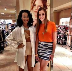 BJ and Leanne for the #Macys Launch Party for #spanxinc Star Power Collection. #TASHIModels #dcevents
