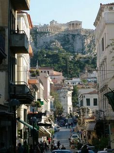 Athens, Greece We just opened our rooms door and we could see the Acropolis. At night I could not believe we were there. Places To Travel, Places To See, Travel Destinations, Dream Vacations, Vacation Spots, Places Around The World, Around The Worlds, Bósnia E Herzegovina, Myconos