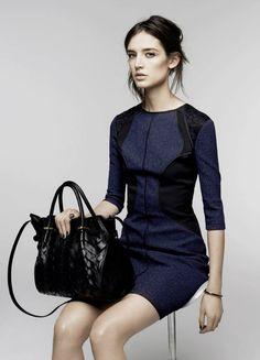 Prendas elegantes y femeninas en la colección Pre Fall 2014 de Nina Ricci