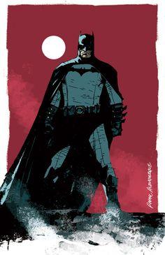 Batman illustration by Rafael Albuquerque. July, 2007.