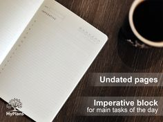 hourly planner weekly undated pages daily planner perfect gift for studying and work eco-friendly