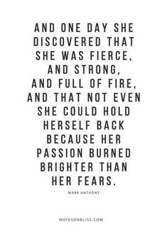 My Faith in God is stronger than my Fears!!