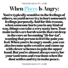 Just Another Random Zodiac Book - When Pisces Is Angry - Wattpad