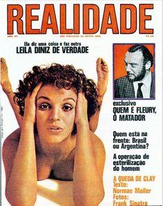 REVISTA REALIDADE - CAPA - LEILA DINIZ