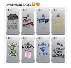 Not a big fan of the bulldog one or the gold on. Love the serpent on e Not a big fan of the bulldog one or the gold on. Love the serpent on e Riverdale Merch, Riverdale Funny, Riverdale Cw, Cute Cases, Cute Phone Cases, Iphone Phone Cases, Ipod, Capas Samsung, Samsung Handy