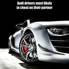 Audi drivers are most likely cheat according to survey