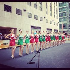 About to perform on the Today Show! ( 11/15/12)