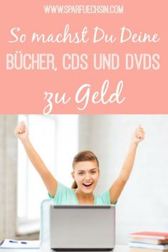 Mit diesen Tipps habe ich über mit meinen alten Büchern, CDs und DVDs v. With these tips I have earned over 600 € with my old books, CDs and DVDs! Money Tips, Money Saving Tips, Money Hacks, Diy Gifts To Sell, Consumer Finance, Cds, Budget Planer, Gifts For Family, Earn Money