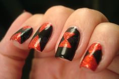 I don't know why I decided I wanted to do a manicure to pay homage to creepy, poisonous spider. I guess I just saw the colors in my stash and was inspired. I had some issues with this mani. Origi...