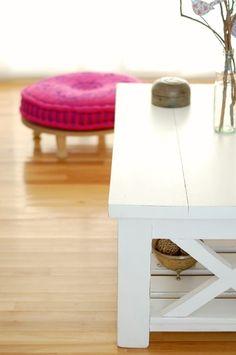 mesa ratona reciclada