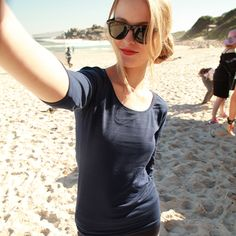 Behind the scenes. Fun on the beach! Behind The Scenes, Basic Tank Top, Selfie, T Shirts For Women, Tank Tops, Beach, Clothing, Fun, Travel