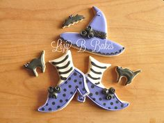 Lizy B: Witch Hat Cookies!  batchlorett