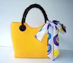 Native Bag Berry zonnig Geel