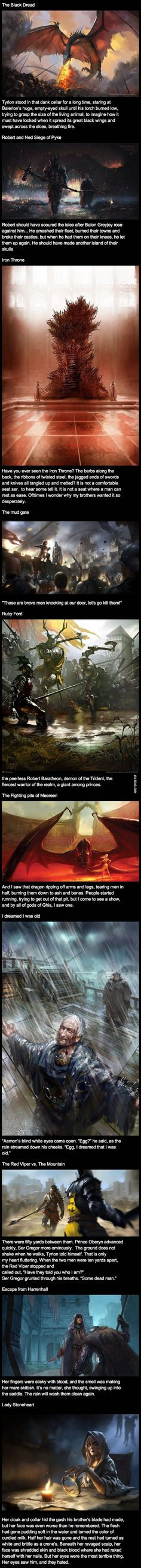 Awesome game of thrones art! *Warning spoilers*