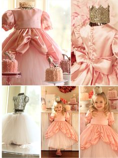 Girl. Inspired. {sewing, crafts, party inspiration}: Dancing on a Cloud Princess Gown: Project Run and Play, Week 5