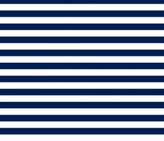 Navy Horizontal Stripes custom fabric by feathersflights for sale on Spoonflower
