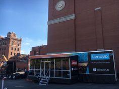 #LenovoTechWheels at Budweiser.