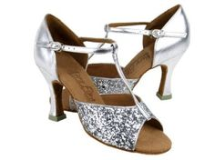 "Amazon.com: Ladies Women Ballroom Dance Shoes from Very Fine C5004 Series 3"" Heel: Shoes"