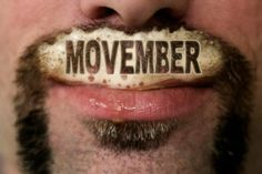 Our fearless Chairmen's #moustache for #Movember.