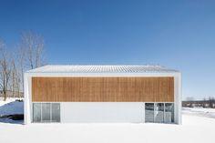 Press kit | 1633-01 - Press release | La Taule - Training center - Architecture Microclimat - Commercial Architecture - Facade - Photo credit: Adrien Williams